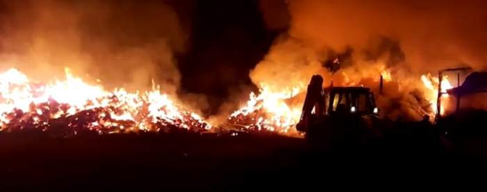 VIDEO / Nu şi-a primit banii, aşa că a incendiat firma! Gestul unui botoşănean a uimit întreaga ţară
