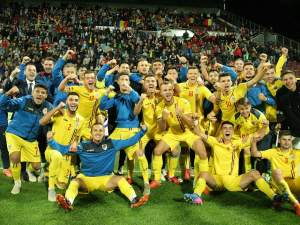 FOTO / ROMÂNIA U21 - ŢARA GALILOR U21 2-0. S-a născut noua Generație de Aur! Tricolorii se pregătesc de EURO 2019