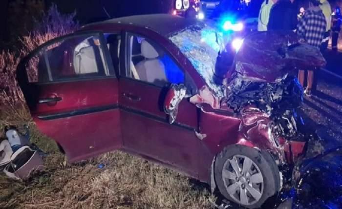 Accident îngrozitor pe șoseaua Timișoara-Moravița, soldat cu doi morți, între care un copil! Șoferul făcea live pe Facebook