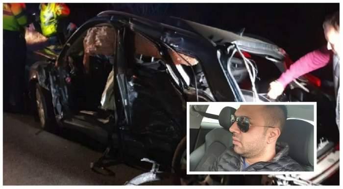 VIDEO / Momentul accidentului de la Timiș, soldat cu 2 morți. Florin făcea live pe Facebook, la aproape 200 km/h