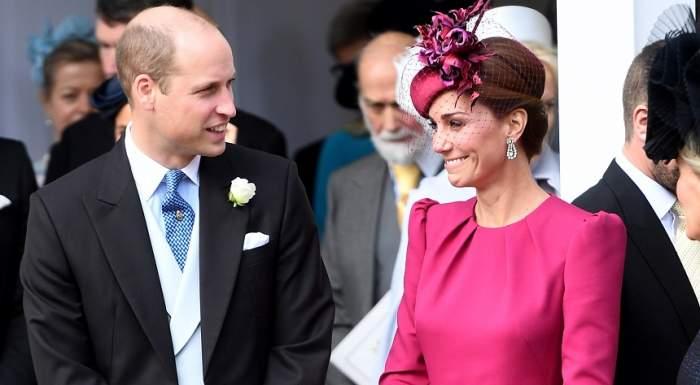 FOTO / Kate Middleton, la un pas de un dezastru vestimentar! Ce spun experții despre rochia purtată la nunta Prințesei Eugenie