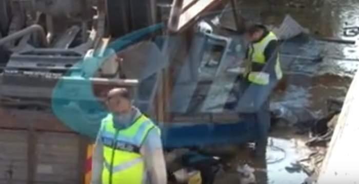 VIDEO / Accident cumplit în Turcia. 19 oameni au murit, după ce un camion a căzut într-un canal de irigație