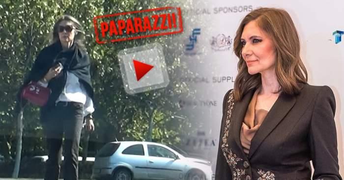 VIDEO PAPARAZZI / Când iubitu-i ocupat, Romaniţa Iovan își pune la-ncercare răbdarea! Vedeta, obligată să facă și treaba lui
