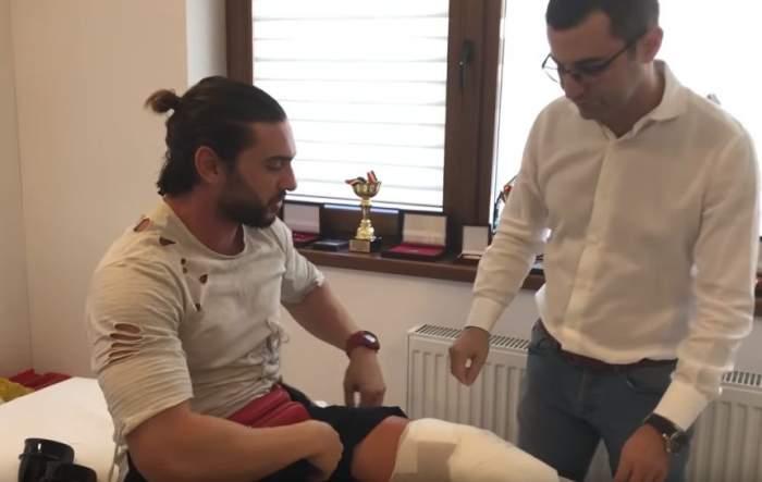 VIDEO / Dorian Popa a ajuns, din nou, pe mâna medicilor, la trei săptămâni de la operaţie! Care este verdictul doctorilor!
