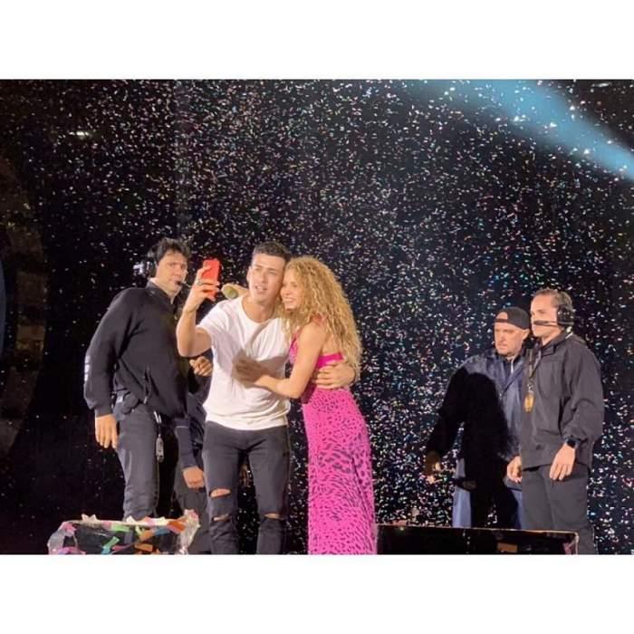 FOTO / Shakira a lăsat pe toată lumea cu gura căscată în timpul concertului. Ce a putut face artista
