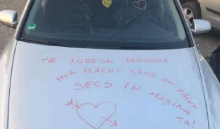 """O tânără din Neamţ a devenit """"faimoasă"""" după mesajul transmis iubitului: """"Te iubesk nebunule. Mi-a plăcut când am făcut secs în maşină"""""""