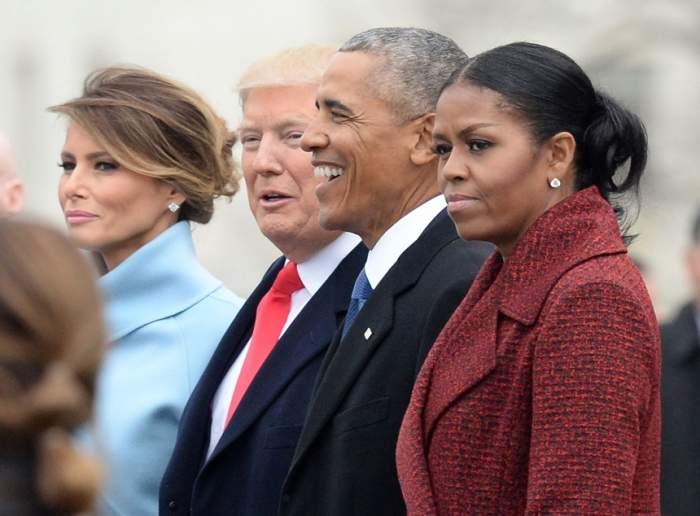 FOTO / Michelle Obama şi Melania Trump dezvăluie acelaşi secret pentru o căsnicie de succes. Este legat de intimitatea fiecăreia