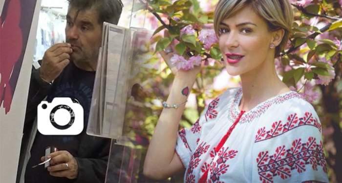 """VIDEO PAPARAZZI / A luat fetiţa la cumpărături, dar el s-a comportat ca un copil! Soţul Roxanei Ciuhulescu, prins """"în fapt"""" la shopping"""