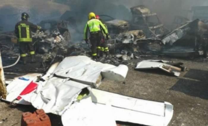 Tragedie în Ucraina! Un avion de vânătoare s-a prăbuşit