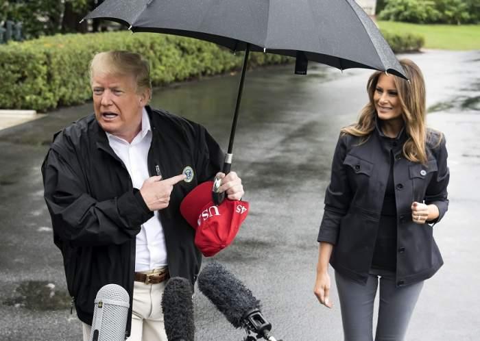 FOTO / Donald Trump, gest mitocănesc la adresa Melaniei Trump! Președintele american nu a ținut cont de nimic din jur
