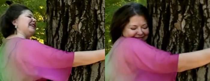 """Rita Mureşan îmbrăţişează copacii şi se iubeşte cu soarele: """"Avem o relaţie specială"""""""