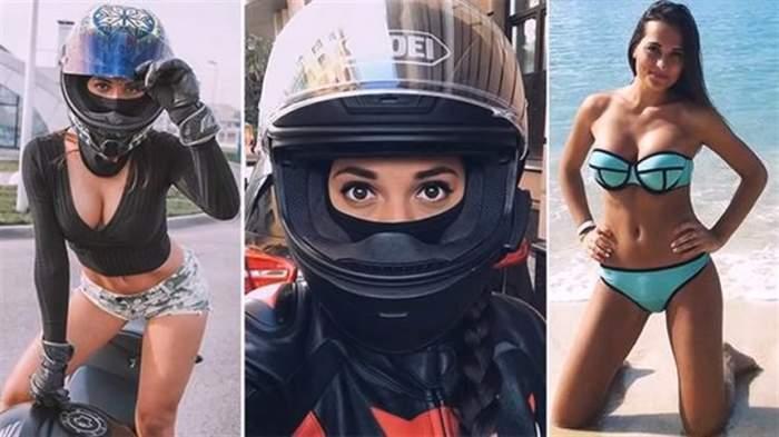 Tânăra considerată cea mai sexy motociclistă din lume a murit, într-un teribil accident rutier
