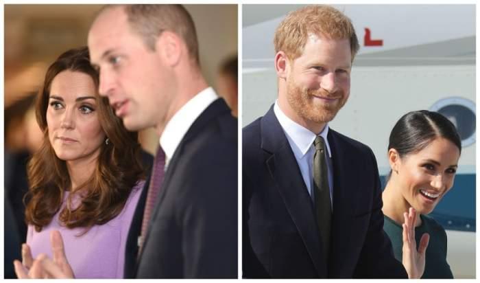 Kate și William NU vor fi nașii copilului lui Meghan Markle și al Prințului Harry! S-a aflat și de ce