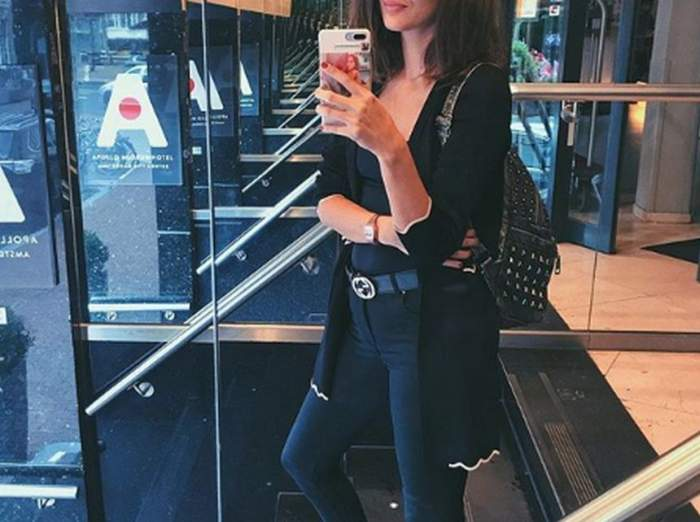 FOTO / Prietena lui BRomania, luată la rost de fani. Vloggeriţa, criticată că foloseşte prea mult photoshop!