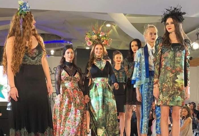 FOTO / Anamaria Prodan, model alături de fiica sa, Rebecca! Sexy impresara a făcut ravagii pe catwalk