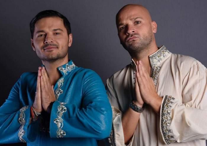 """FOTO / Întâlnirea din aeroport i-a lăsat fără cuvinte pe toţi! Cum s-au îmbrăcat Liviu Vârciu şi Andrei Ştefănescu pentru plecarea în """"Asia Express"""""""