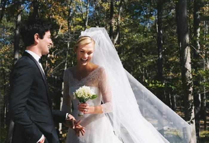 FOTO / Veste bombă în showbiz! Un supermodel internaţional s-a căsătorit cu iubitul ei, după şase ani de relaţie