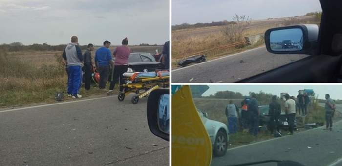 FOTO / Accident devastator în Timişoara! Un şofer de 70 de ani a spulberat o ambulanţă!