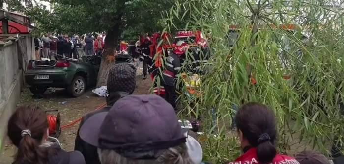FOTO / Accident cumplit în Teleorman! Doi băieți de 18, respectiv 24 de ani au murit pe loc