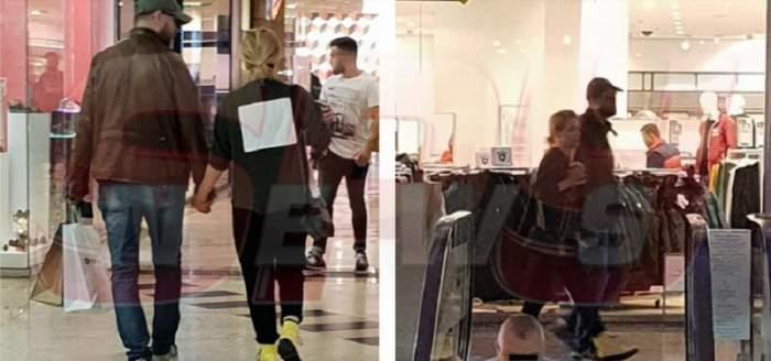 FOTO EXCLUSIV! Simona Gherghe și soțul, ca doi adolescenți îndrăgostiți! Așa au apărut într-un mall din Capitală