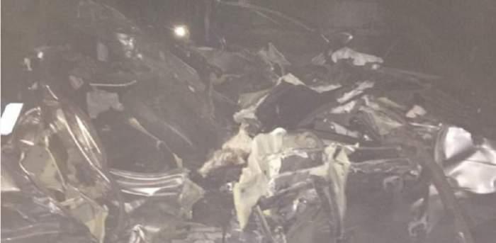 FOTO / O familie a murit într-un accident cumplit lângă Calafat. Două dintre victime sunt copii