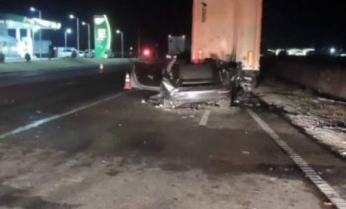 Cine era bărbatul care se afla la volanul maşinii zdrobite în accidentul din Calafat. Mâine era ziua fetiţei lui