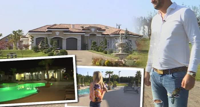 Milionar român cu vilă ca la Hollywood! A pornit de la zero și acum deține un domeniu fabulos. Imagini exclusive cu proprietatea de 10.000 de metri pătrați