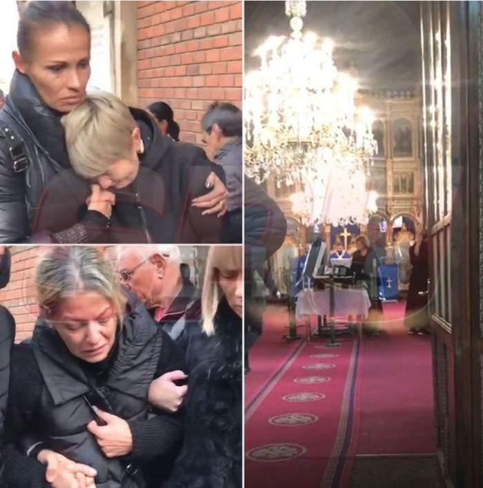 VIDEO / Scene copleşitoare la căpătâiul lui Ilie Balaci! Lorena, fata cea mare, îngenuncheată de durere!