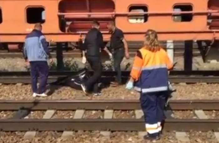 VIDEO / Scene șocante la Medgidia! O femeie a fost decapitată de tren