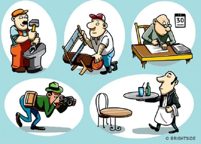 TEST: Care dintre cei cinci bărbaţi este stângaci? Aceasta este provocarea pe care 99% dintre oameni o pică