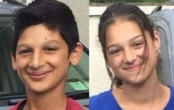 FOTO / Doi fraţi din Arad, un băiat de 13 ani şi o fată de 15 ani, daţi dispăruţi. Poliţia îi caută peste tot