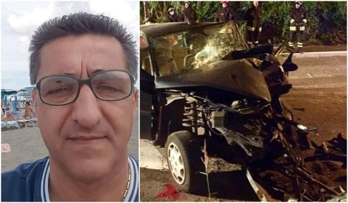 Român din Italia, mort în urma unui accident rutier îngrozitor. S-a stins pe loc
