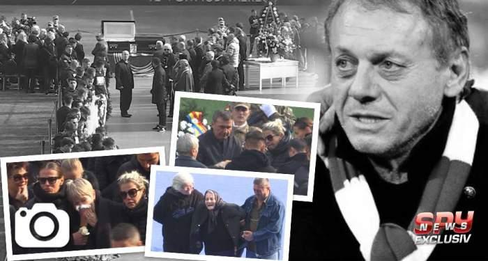 UPDATE / Ilie Balaci, condus astăzi pe ultimul drum. Imagini tulburătoare de la cimitir!