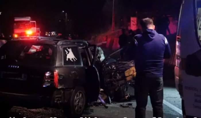 VIDEO / Accident teribil în Gherla. Un tânăr de 28 de ani a murit pe loc, după ce a intrat într-o depăşire ilegală