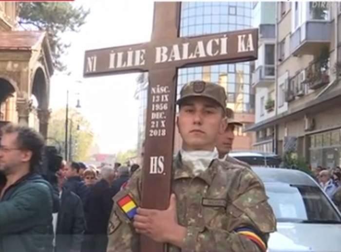 FOTO / Ce scrie pe crucea lui Ilie Balaci. Detaliul care a atras atenţia!