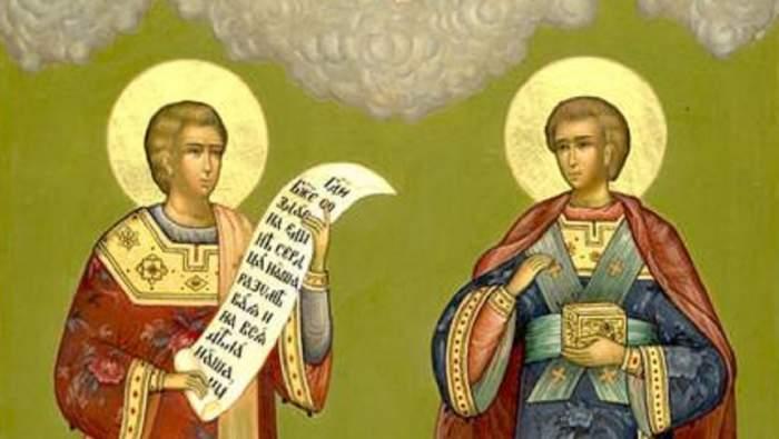 Dublă sărbătoare pe 25 octombrie. Ei sunt sfinții cărora este bine să le închini o rugăciune