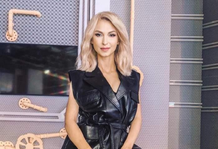 """Prima declaraţie a Andreei Bălan, după ce s-a aflat că e gravidă: """"Familia ni se va mări"""""""