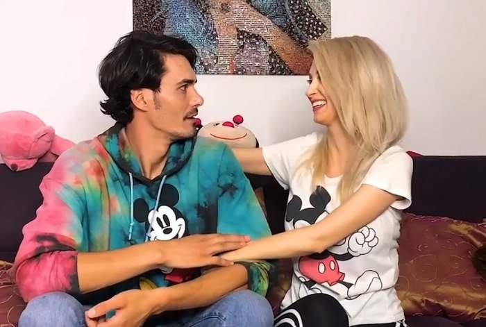 VIDEO / 10 teste de sarcină pentru a-l convinge pe George Burcea că e însărcinată! Câte kilograme a pus Andreea Bălan în 5 luni