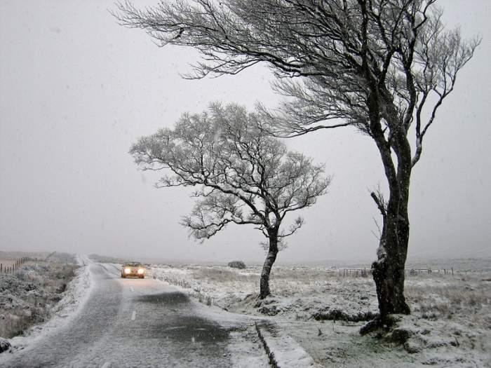 Vești proaste de la ANM! A fost instalat cod galben de ninsoare viscolită, în aproape toată țara!