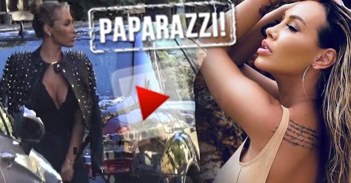 VIDEO PAPARAZZI / Tristă şi de ziua ei! Ghinionistă în amor, Raluca Podea s-a serbat fără a avea vreun iubiţel prin preajmă