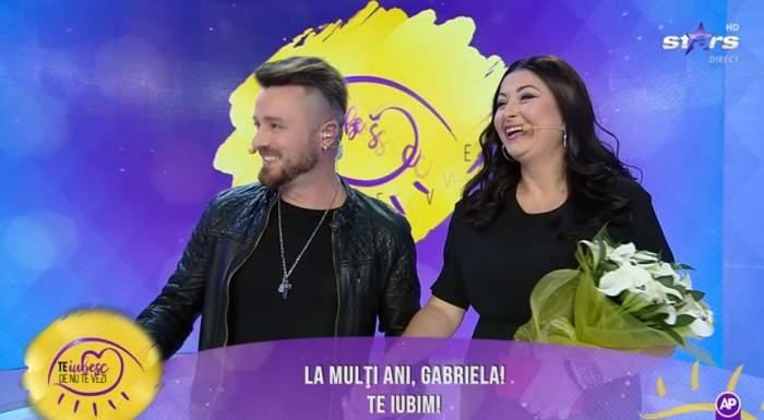 FOTO / Prima apariție la TV a Gabrielei Cristea, după ce s-a aflat că este însărcinată. Vedeta radiază de fericire!