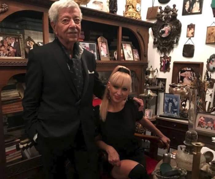 Divorţaţi, dar împreună pe viaţă! Simona Florescu, declaraţie de dragoste fabuloasă pentru Ion Dichiseanu
