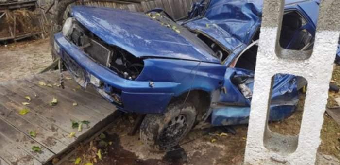 FOTO / Accident şocant în Suceava! Un băiat de 17 ani a murit pe loc!