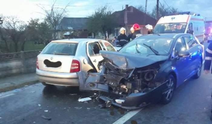VIDEO / Şapte victime, într-un accident teribil în Maramureş. Unul dintre şoferi a adormit la volan!