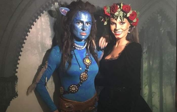 VIDEO / Cum s-au costumat vedetele de Halloween. Au vrut să fie cât mai înfricoşătoare!