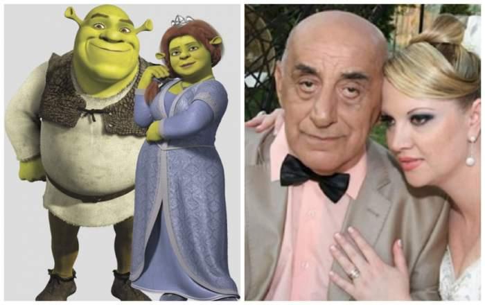 FOTO / Oana și Viorel Lis sau Fiona și Shrek? Cam așa s-au gătit cei doi pentru petrecere!