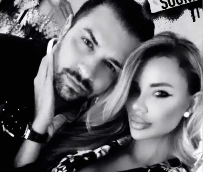 FOTO / Alex Bodi nu mai poate de dorul Biancăi Drăguşanu. Dovada că milionarul musculos este în limbă după blondină!