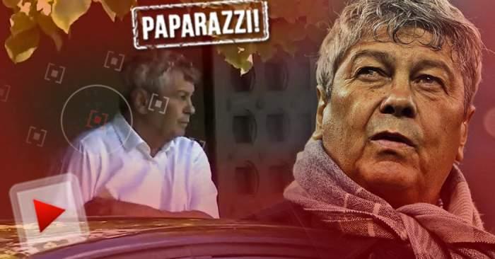 """VIDEO PAPARAZZI / Mircea Lucescu, ţinut sub observaţie pas cu pas! Cine e persoana care îi suflă în ceafă lui """"Il Luce"""""""