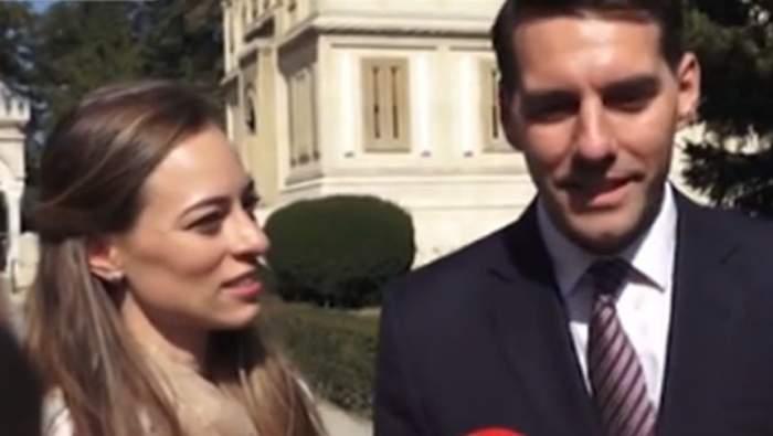 VIDEO / Fostul Principe şi Alina au început luna de miere în România. Ce spune Nicolae despre absenţa familiei la nuntă