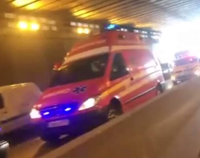 Circulaţie blocată pe un drum din Bucureşti! O femeie a murit pe loc